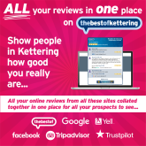 Are the reviews for your Kettering business all over the place?