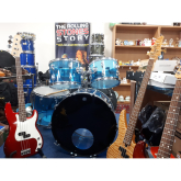 Rock 'n' roll auction of drums and guitars in Lichfield