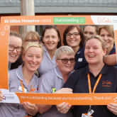 ST GILES HOSPICE ACCLAIMED FOR EXCELLENCE OF EDUCATION SERVICE