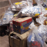 Illegal goods seized in the city recycled under green scheme