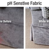 Stains & pH Sensitive Fabric - What's Occurring?