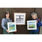 Shropshire artist raising money for food charities with lockdown paintings