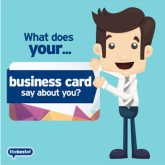 Marketing Tip – What does your Business Card say about you?