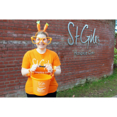 GET UP AND GO ORANGE THIS APRIL TO SUPPORT ST GILES HOSPICE