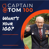 CRANSLEY HOSPICE TRUST SUPPORTERS INVITED TO CELEBRATE  CAPTAIN SIR TOM'S ACHIEVEMENTS IN SPECIAL FUNDRAISING EVENT