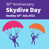 Still Time to Sign Up for Charity Sky Dive