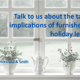 What Are the Tax Implications of Furnished Holiday Lets?