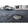 Pot holes once again cause havoc in lieu of recent wet weather