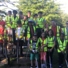 9th North Watford Cubs help clean up Woodside Playing Fields