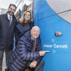 Jasper Carrott unveils tram named in his honour