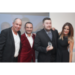 Nottingham Winner at the Hair Awards 2012