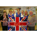 Marking the Queen's Diamond Jubilee at Princess Alice Hospice