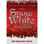 Snow White and the Seven Dwarfs at New Wimbledon Theatre in Pantomime Christmas 2012