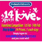14 DAYS OF LOVE - WIN GREAT PRIZES - THE BEST OF ST NEOTS