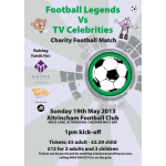 Some of the Legends for this Sundays Charity Football Match!
