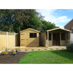 Garden landscaping job in Shrewsbury