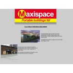 Maxispace Portable Buildings Ltd of St Neots- March Newsletter 2016