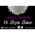 Latest Offers from Hi Style Salon