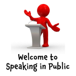 Welcome to Speaking in Public with Ges Ray @gesspeaking #publicspeaking