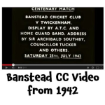 Banstead CC amazing film from 1942 – and still drawing in the fans @banstead_cc @bansteadhighst @bansteadlife