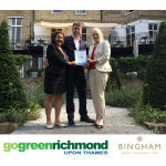 30th September registration deadline for free Greening Business support as Bingham Hotel 'greens' its business