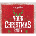 Take your Christmas Party to the highest level with Four Gables Fine Dining @fourgablesfood #christmasparty