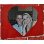 If you and your partner fit together perfectly, why not purchase a personalised jigsaw from GJ Plastics?