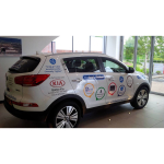 Bolton Kia celebrate Best of Bolton partnership with new Kia Sportage