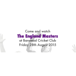 Want to play with The England Masters – here's your chance @Banstead_CC #lovecricket