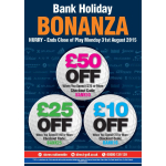 Direct Golf's Bank Holiday Bonanza