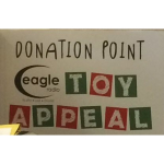 Branston Adams help put a smile on children's faces with Eagle Radio's Toy Appeal