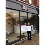 £605 raised for Shooting Star Chase at True Beauty salon