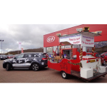 Bolton Kia helps bring Christmas to town