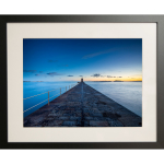 WIN STUNNING FRAMED PHOTO OF CASTLE BREAKWATER BY JR PHOTOGRAPHY