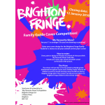 Fringe Family Guide Cover Competition is now open in Brighton !