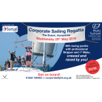 Fly Your Flag for Hospice Care at our Corporate Sailing Regatta
