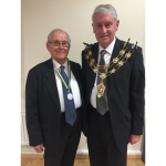 Tom Rhind-Tutt awarded Active Citizen Award by Epsom and Ewell Mayor, Cllr Chris Frost @SunnybankEpsom