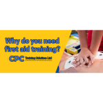 Why do you need first aid training?