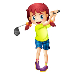 Girls TRY GOLF with FREE Coaching at Portmore Golf Park