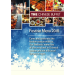 Celebrate Christmas 2016 at THE Chinese Buffet