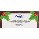 Celebrate Christmas 2016 at Curley's Dining Rooms