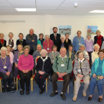 SPECSAVERS OPTICIANS MARKET STREET SUPPORTS THE GUERNSEY MACULAR SOCIETY SUPPORT GROUP