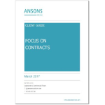 Download our client guide to commercial contracts