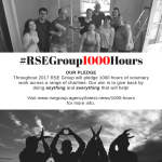 "1000 Hours ""Community Service"" for RSE Group"