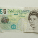 Do you have any old fivers?