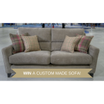 WIN a custom made 3 seater sofa at Sofa Factory Outlet!