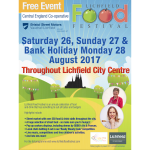 Bake Off Stars, to headline Lichfield Food Festival