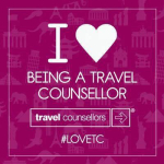 I love being a travel Counsellor.