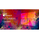 Major Windows 10 Update - Fall Creators Update