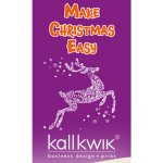 Make sure your business stands out this Christmas with a little help from Farnham's Kall Kwik Printers